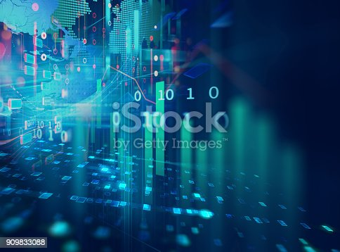 istock technical financial graph on technology abstract background 909833088