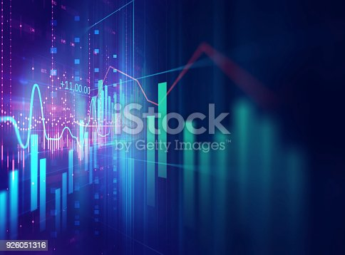 istock technical financial graph on technology abstract background 926051316