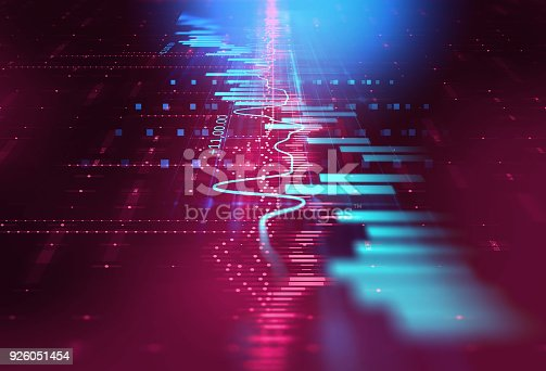 868363098 istock photo technical financial graph on technology abstract background 926051454