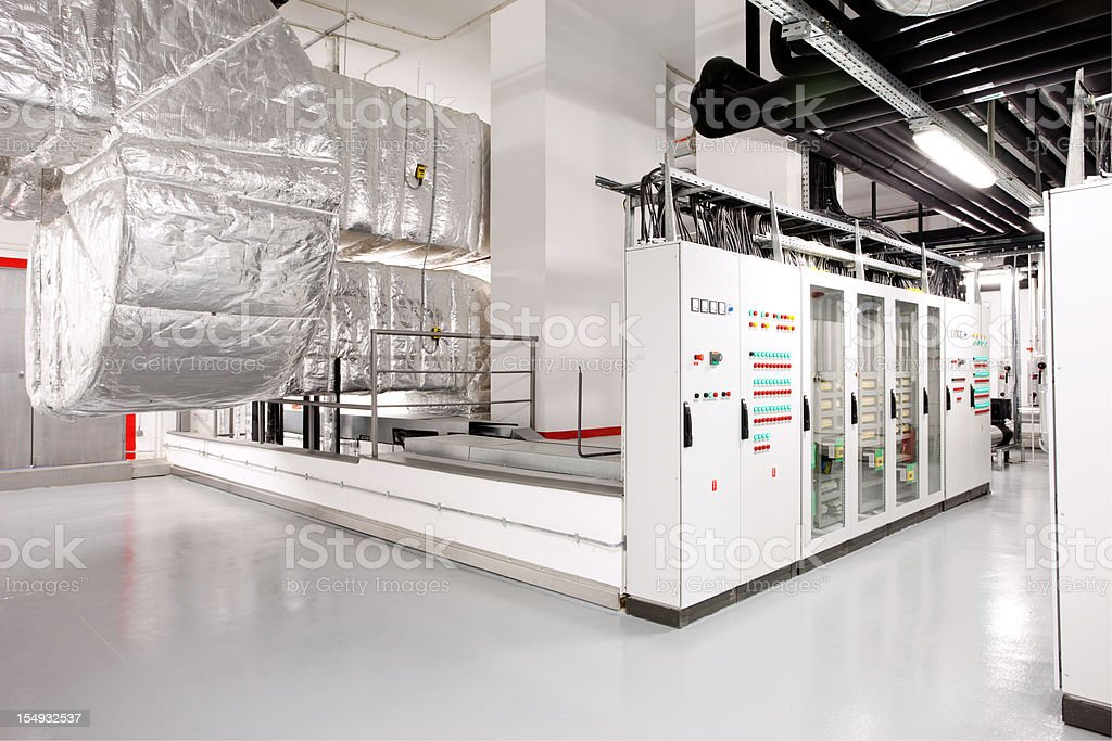 Technical floor stock photo