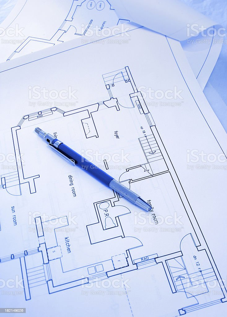 technical pencil royalty-free stock photo