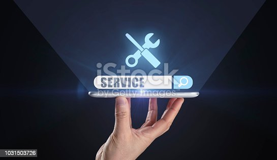 Service, Searching, Internet, Technology, Technical Routine