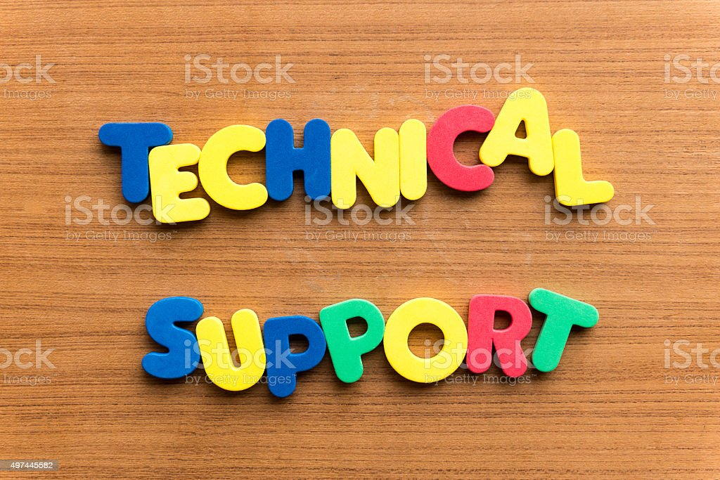 technical support stock photo