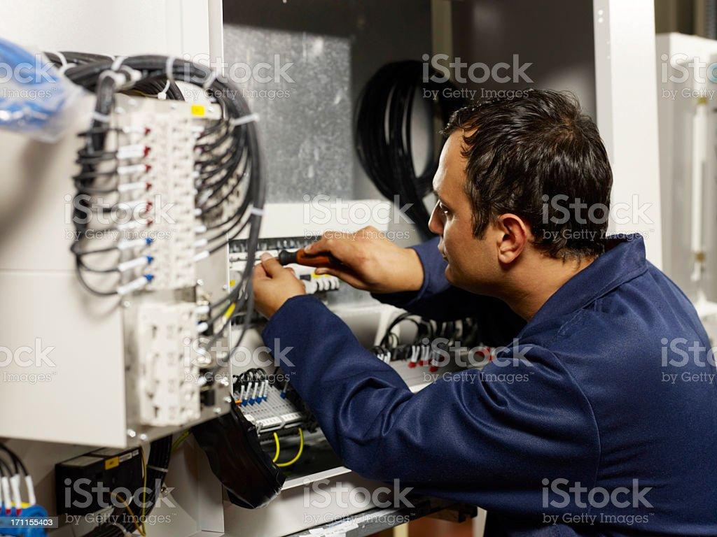 Technician royalty-free stock photo