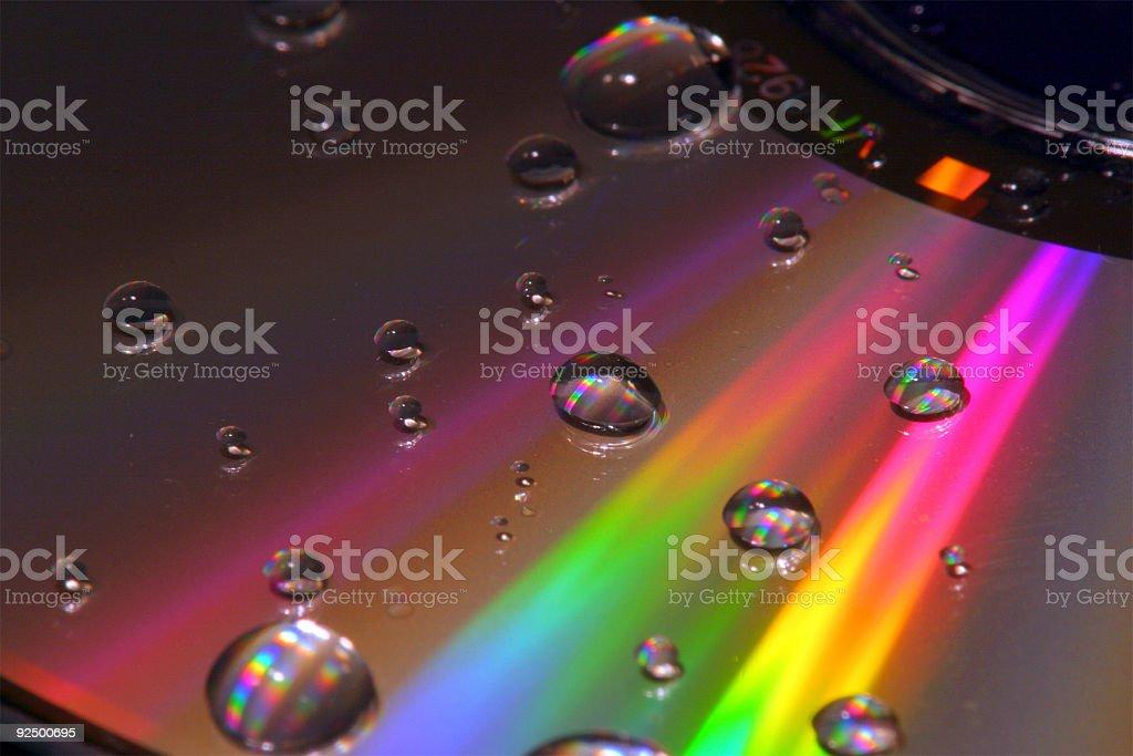 Technicolor Rainbow royalty-free stock photo