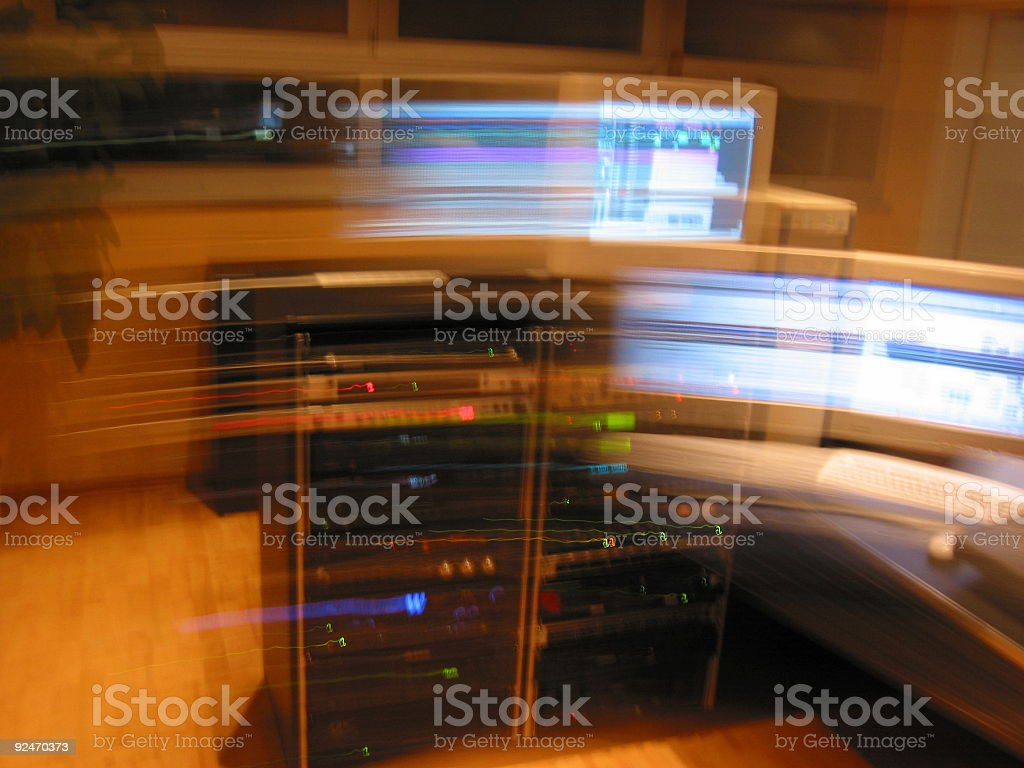 technique in motion royalty-free stock photo