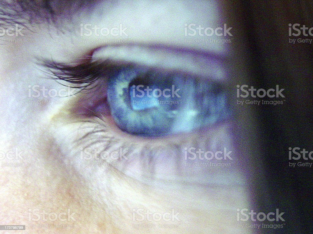 Techno Eye royalty-free stock photo