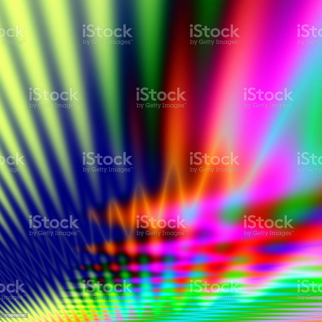 Techno Light Party Abstract Wallpaper Background Stock