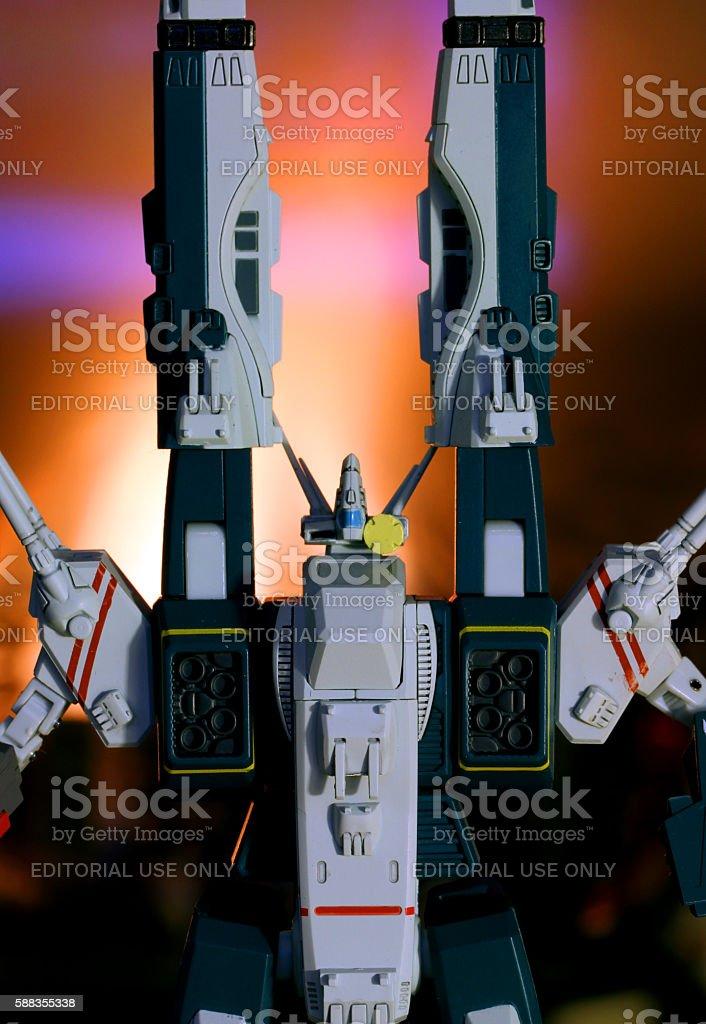 TechnoKnight stock photo