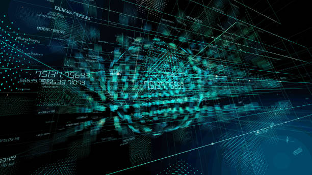 technological abstract background. - cloud software stock photos and pictures