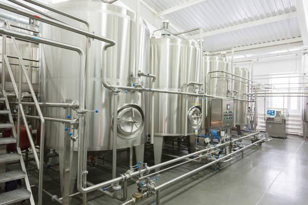 Équipement technologique de la laiterie - Photo