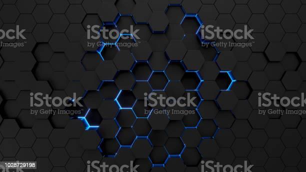 Technological hexagonal background with blue neon illumination picture id1028729198?b=1&k=6&m=1028729198&s=612x612&h=jwj 3ufmeqnaeyclwrkxjaki3crc5rqyrybxpzog9xq=