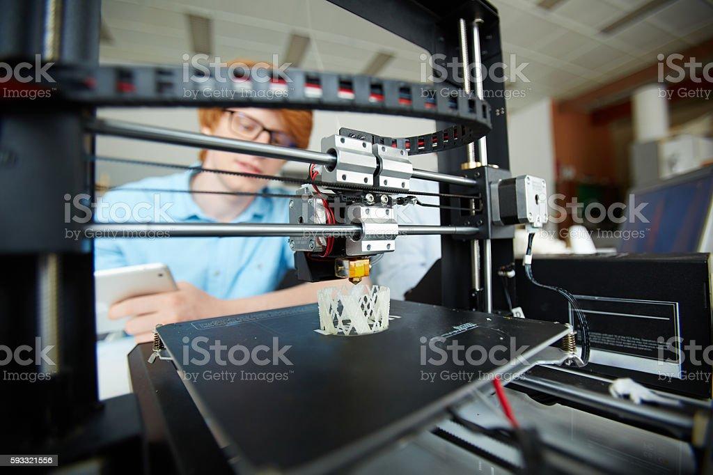 Technological invention bildbanksfoto