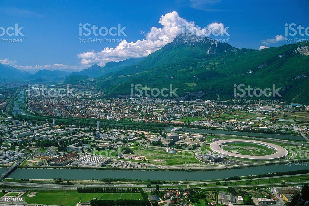 Technologie area of Grenoble stock photo