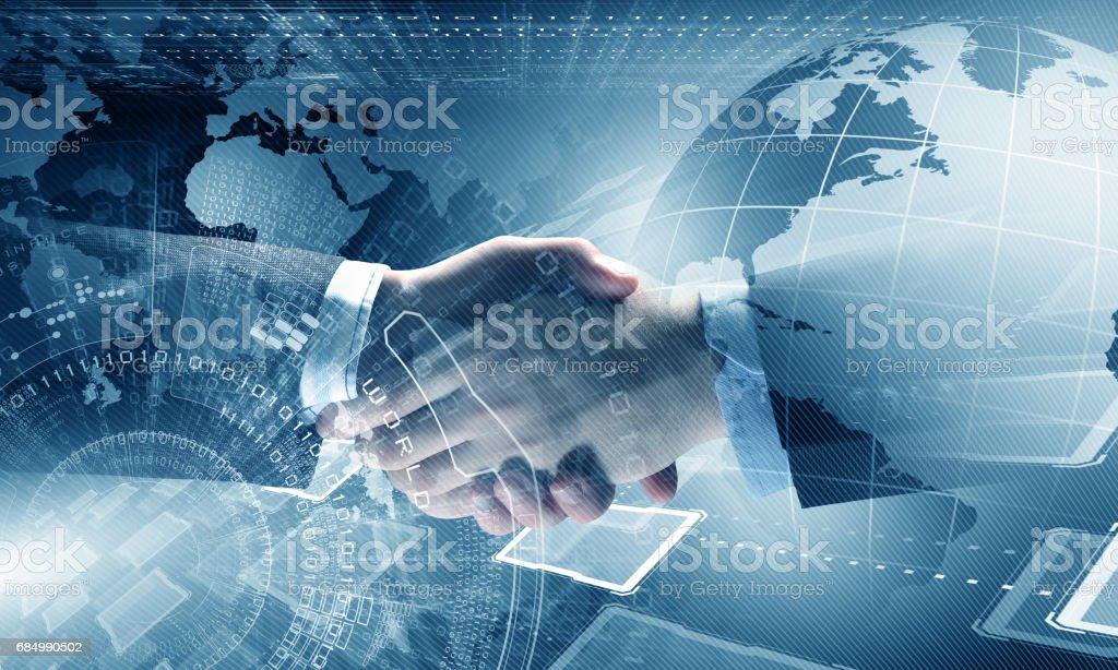 Technologien, Menschen zu verbinden Lizenzfreies stock-foto
