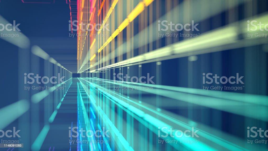 Technik abstrakte Bewegung - Lizenzfrei Abstrakt Stock-Foto