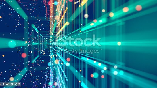 istock Technology abstract 1148091793