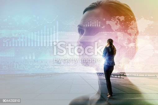 872670540 istock photo Technology and business concept. 904420310