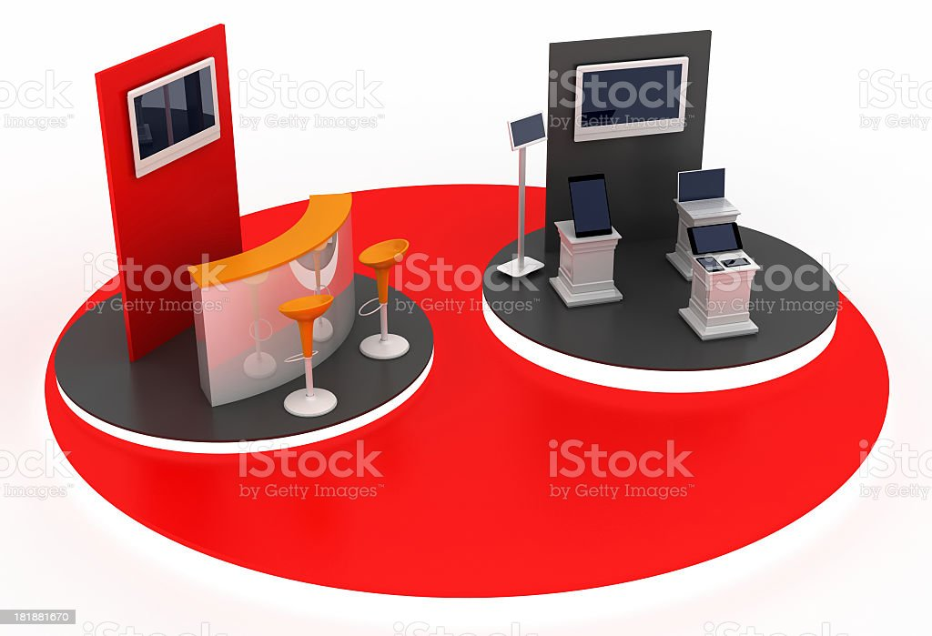 Technology and Business royalty-free stock photo