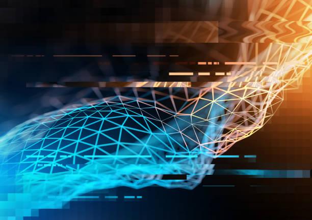 Technology And Business visualization - foto stock