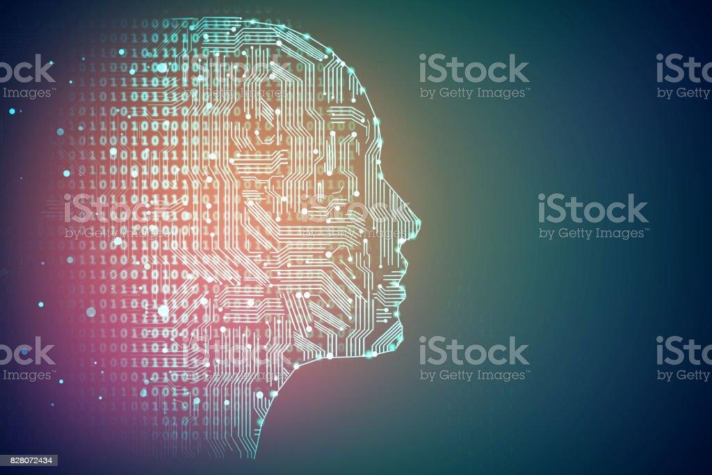 Technologie und Konzept - Lizenzfrei Abstrakt Stock-Foto