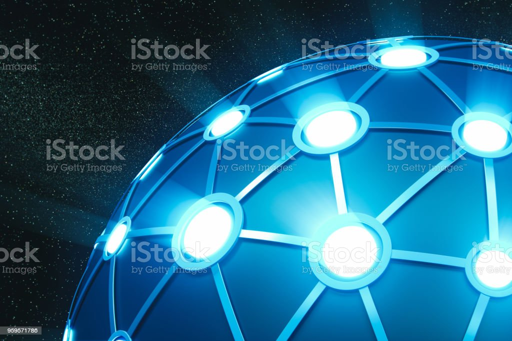 Technology And Network stock photo