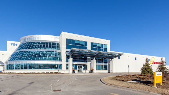 Technology And Operations Centre Of Enbridge In Markham