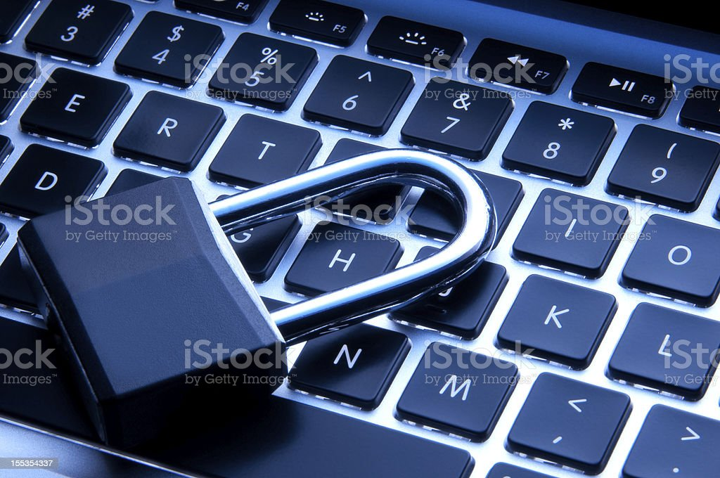 Technology and Security concept royalty-free stock photo