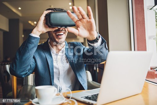 istock Technology and virtual reality 617757854