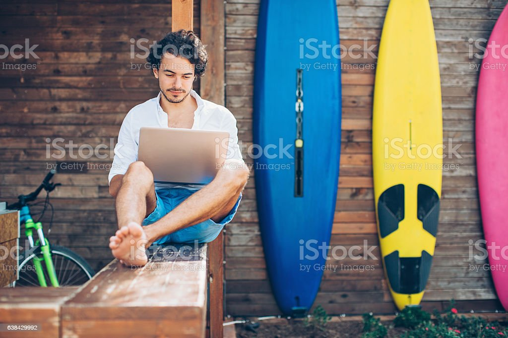 Technology and water sport – Foto
