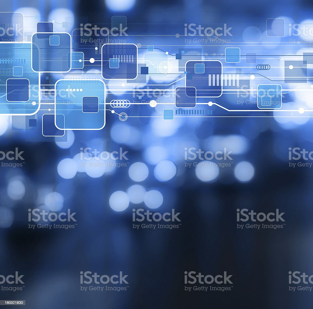 Technology background design stock photo