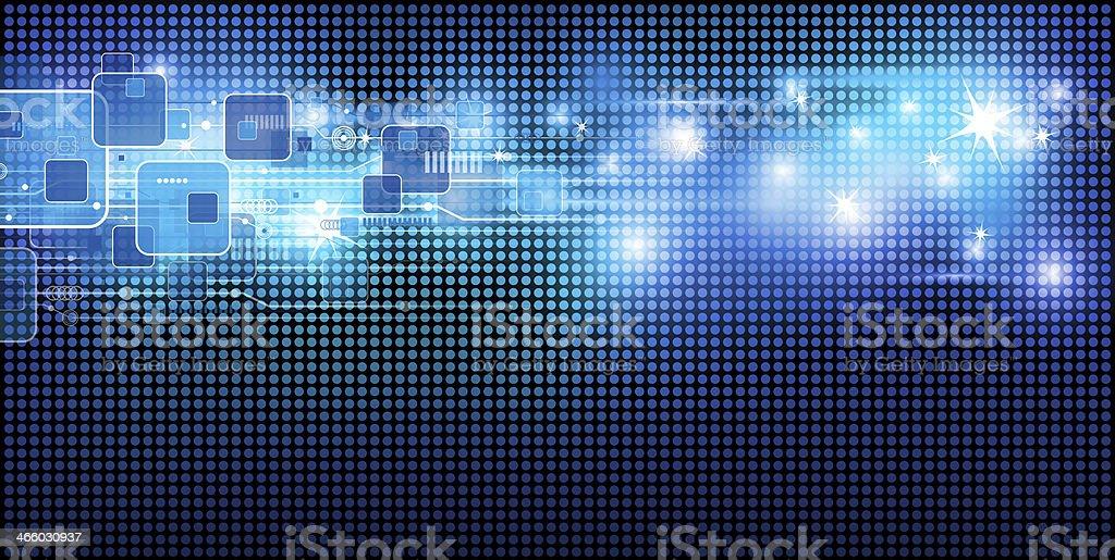 Technology background design stock photo