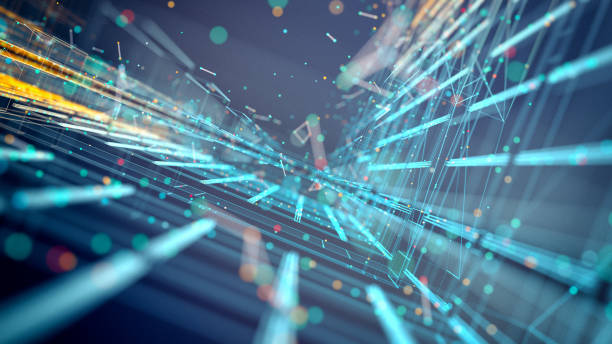 Technologie-Hintergrund – Foto