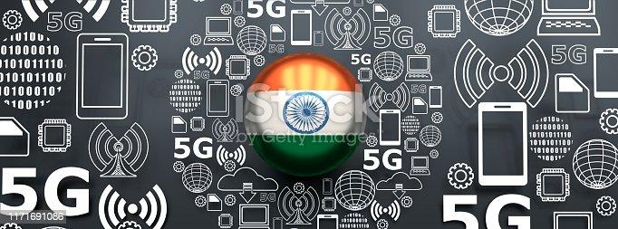 istock 5G technology background 1171691086