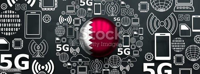 istock 5G technology background 1172225532