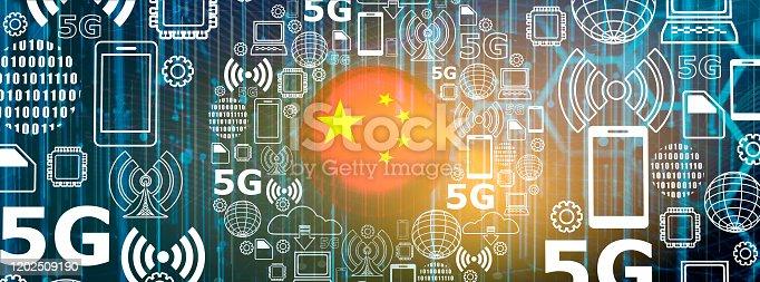 istock 5G technology background 1202509190