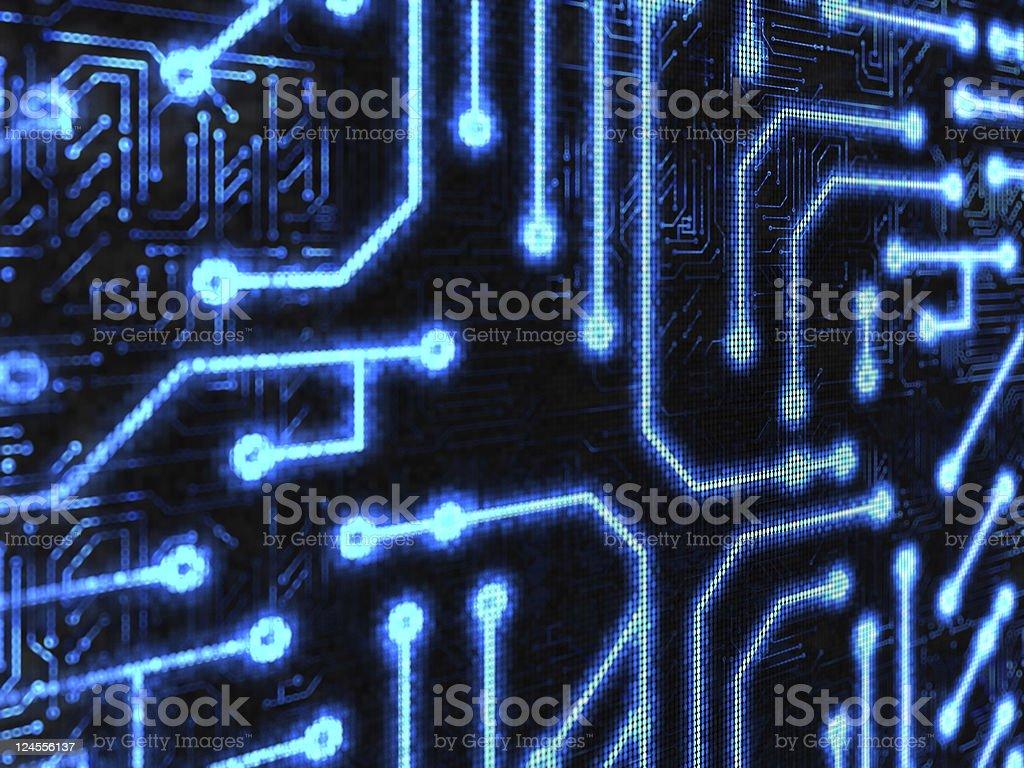 Technology background royalty-free stock photo