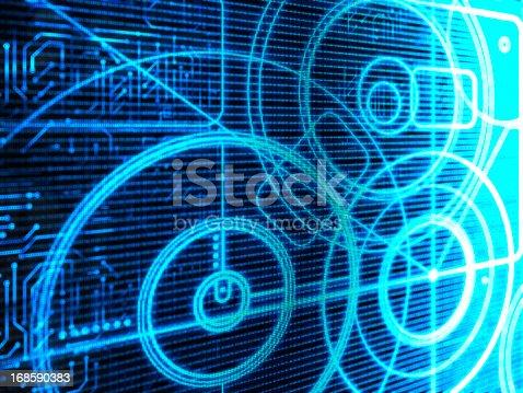 istock Technology Background 168590383