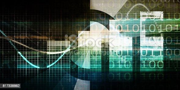 istock Technology Background 817338862