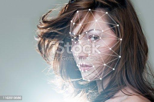 1021681352 istock photo Technology biometric verification 1163919586