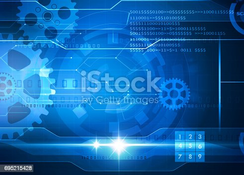 istock technology blue background 695215428