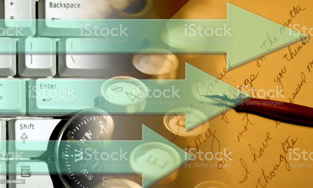 Technology - Communication royalty-free stock photo