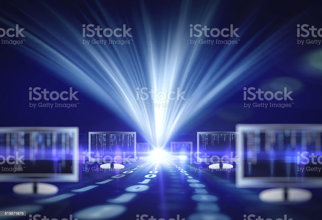IT Technology Concept stock photo