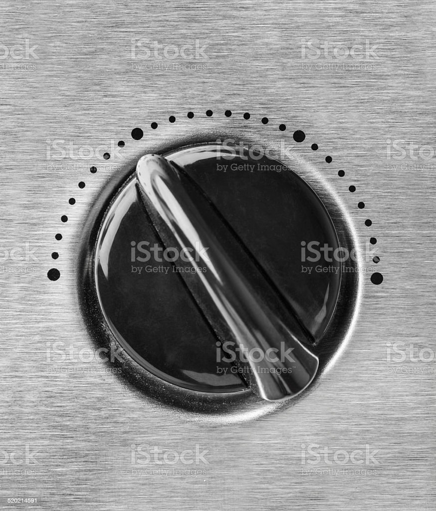 Technology control knob dial stock photo