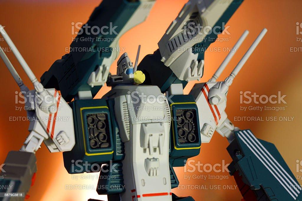Technology Defender stock photo