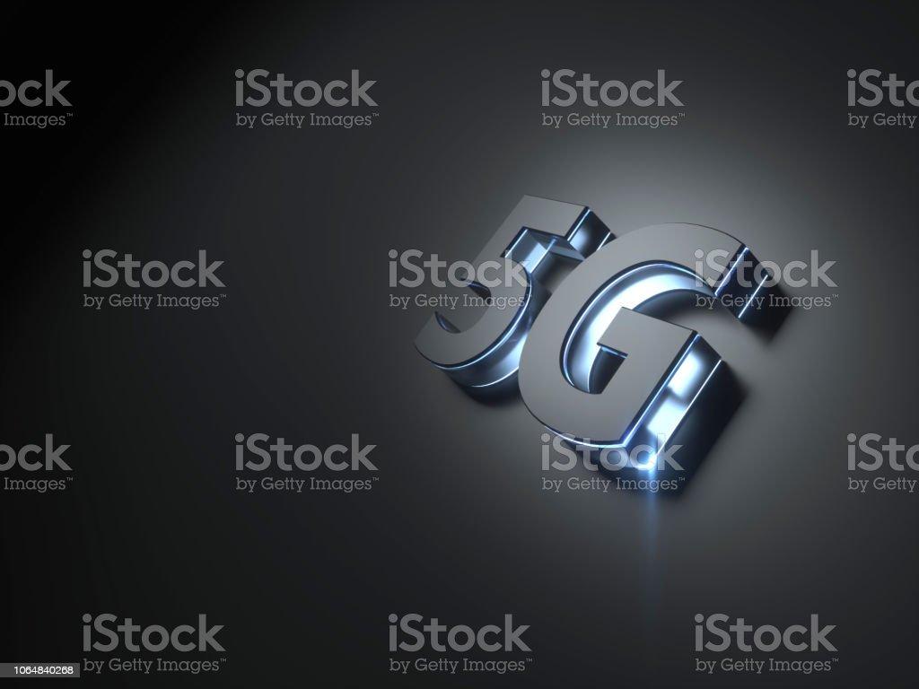 5G teknoloji dijital kavramı stok fotoğrafı