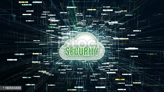 906892336 istock photo Technology Digital Data Network Connection, Secure data in global network, Digital cloud computing, Cyber security concept 1160534333