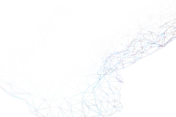 Technologie echnology Linien und Kugeln – Foto