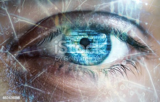 652426098 istock photo Technology eyes 652426098