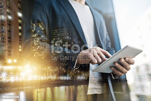 istock Technology gives him the competitive edge 839042038